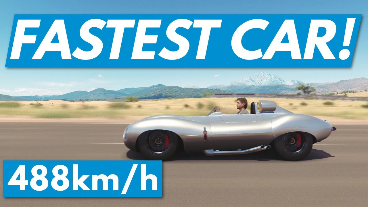Forza Horizon 3│Fastest Car: 488kph/303mph!!!