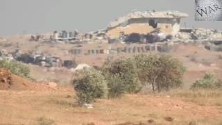 Новости Сирии:обстрел боевиков ПТУРами на юге Алеппо