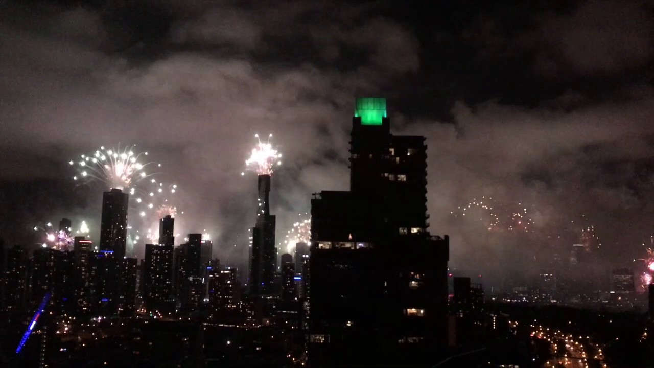 happy new year 2017 in melbourne youtube