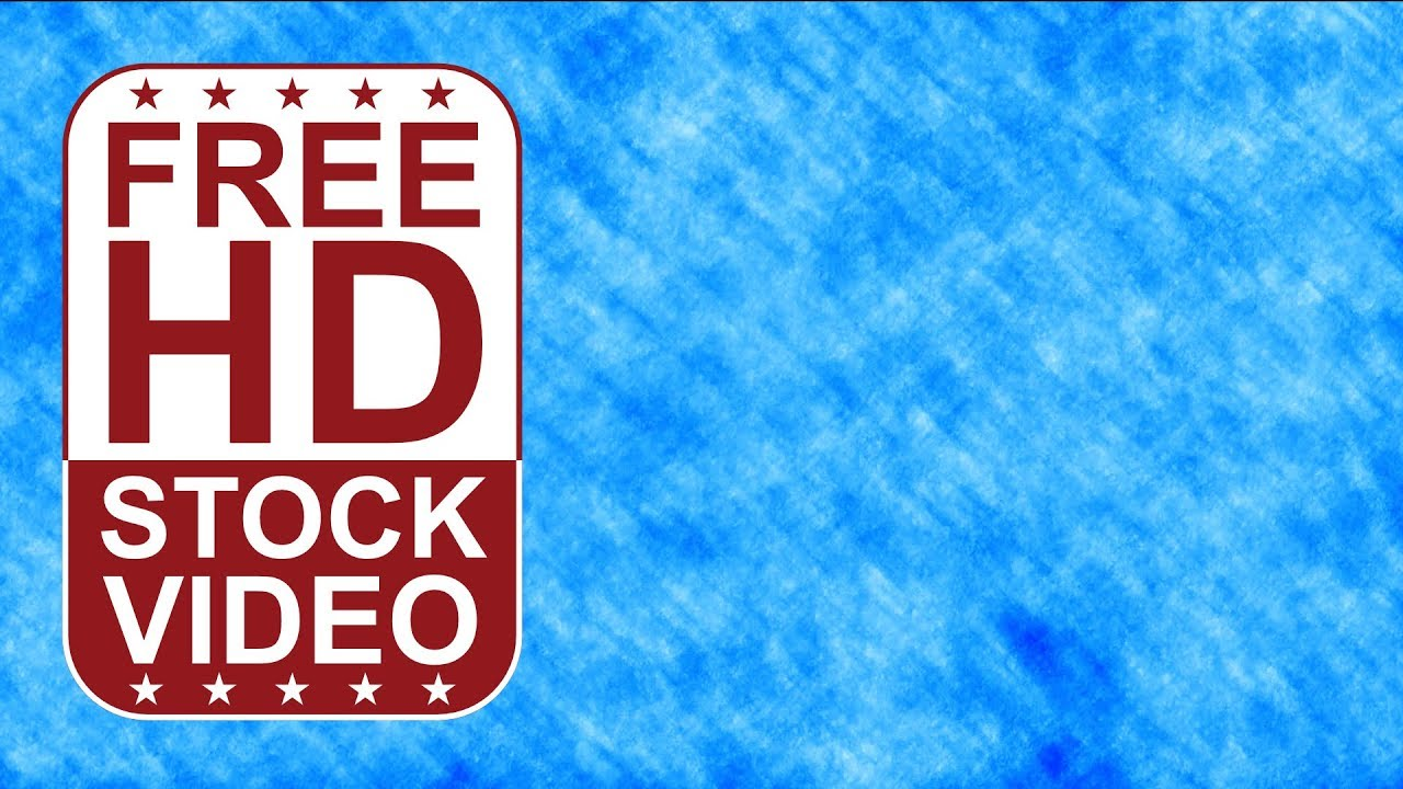 Blue Grunge Background: Abstract Animated Blue Grunge