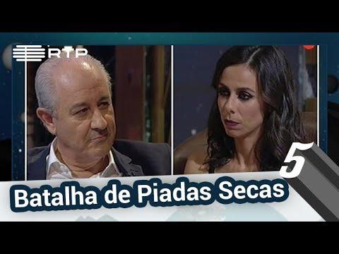 Rui Rio e Filomena Cautela na Batalha das Piadas Secas - 5 Para a Meia-Noite