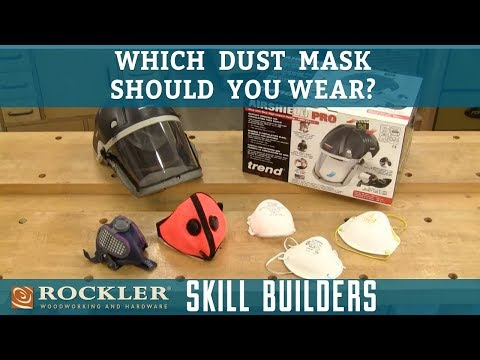 Which Dust Mask Should Woodworkers Wear? | Rockler Skill Builders