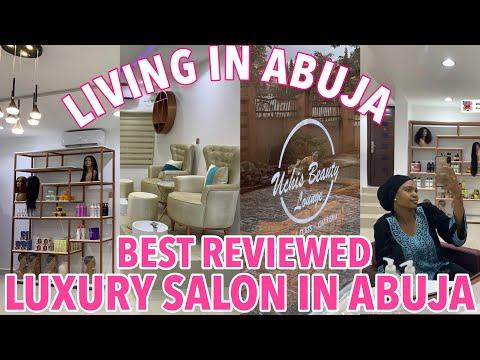 LIFE IN ABUJA | NEW LUXURY SALON IN NIGERIA, Grocery Shopping & haul.  | Vlog #8
