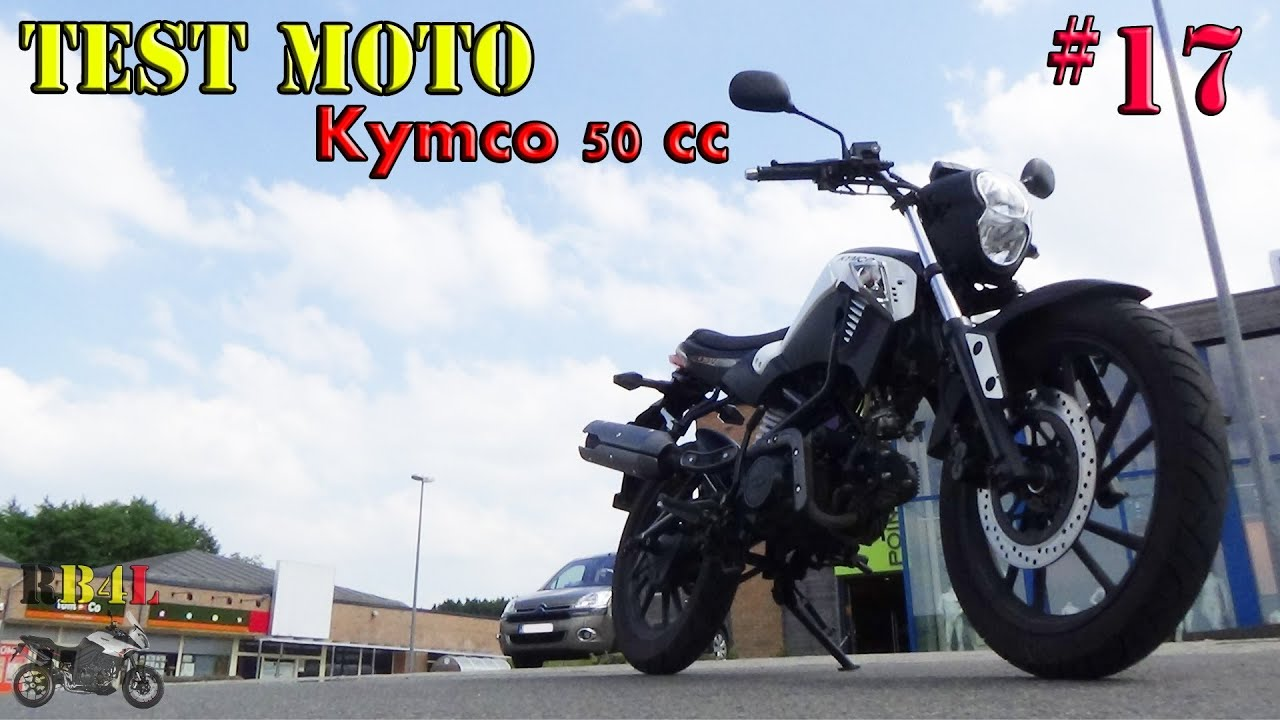 test moto 17 kymco 50 cc rb4l youtube. Black Bedroom Furniture Sets. Home Design Ideas