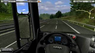German Truck Simulator Gameplay (PC HD)