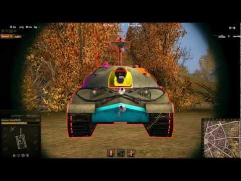 World of Tanks: IS-7 Weak Spots