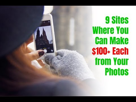Download Youtube: 9 Sites Where You Can Make $100+ Each from Your Photos