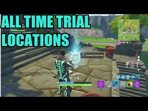 All 3 Time Trials Week 3 Challenges Fortnite