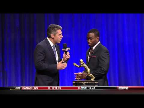 Biletnikoff Award 2013 Brandin Cooks ESPN College Football Awards