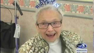 WNT Woman Celebrates 105th Birthday - May 2nd, 2017