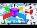 KEVIN CUBE Season WALL WARS *NEW* Gamemode in Fortnite Battle Royale