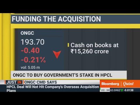 ONGC Press Meet On HPCL Stake Buy