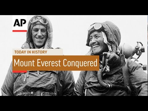 Mount Everest Conquered - 1953 | Today In History | 29 May 17