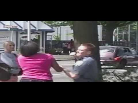 Police Officer Caught On Tape Punching 17-Yr Old Girl