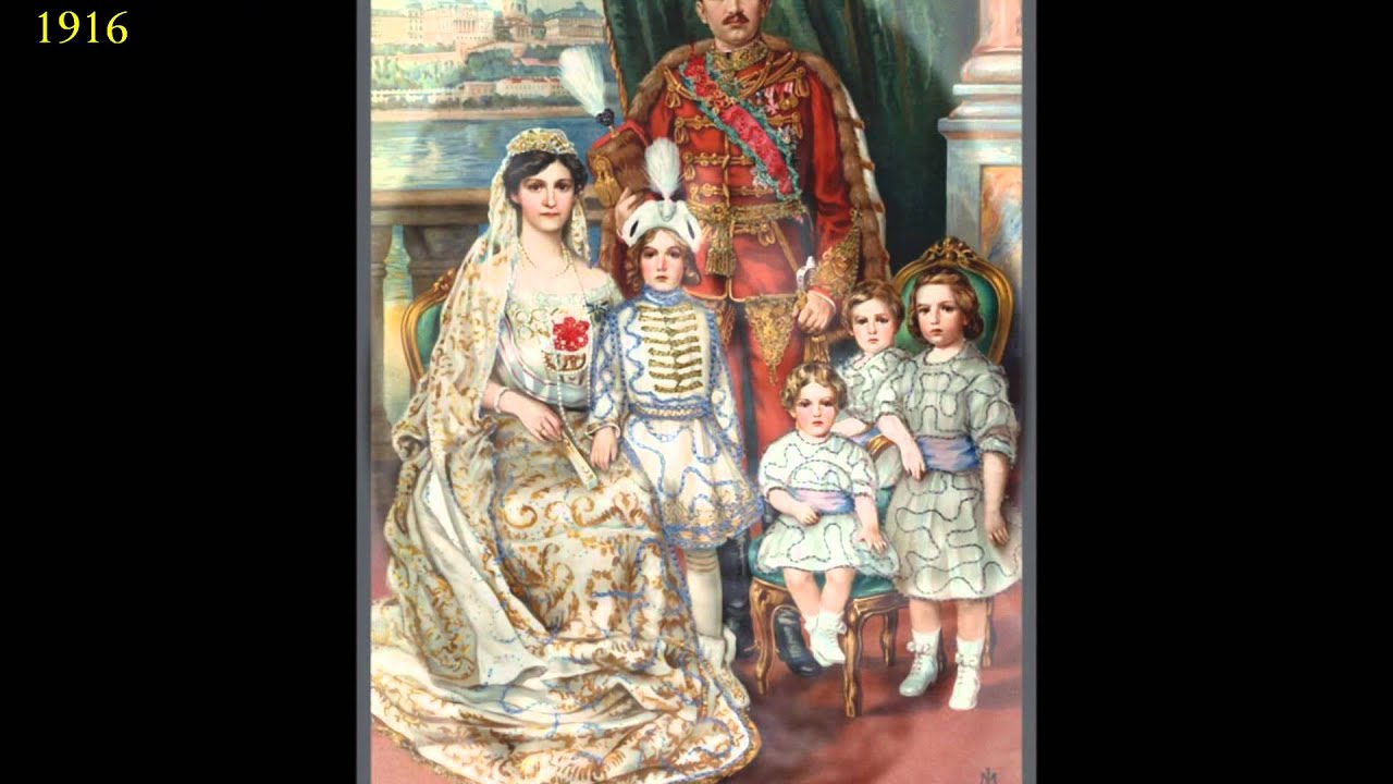 Zita Kaiserin Von österreich Gekrönte Apostolische Königin Von