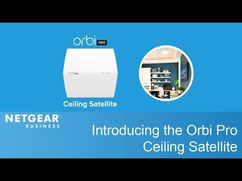 Meet the Orbi Pro Ceiling Satellite | NETGEAR Business