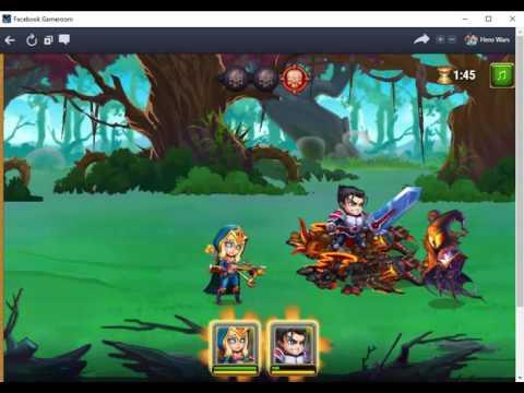 Hero Wars-Facebook Gameroom