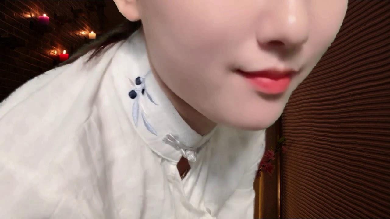 【中文ASMR】小姐姐輕語聊天為你SPA按摩+足療+蘆薈膠的臉部保濕+掏耳朵 Ear cleaning,Massage - YouTube