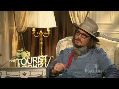 Johnny Depp talks about his 'first time' The Tourist Interview