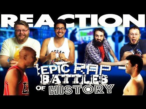 Michael Jordan vs Muhammad Ali. Epic Rap Battles of History REACTION!!
