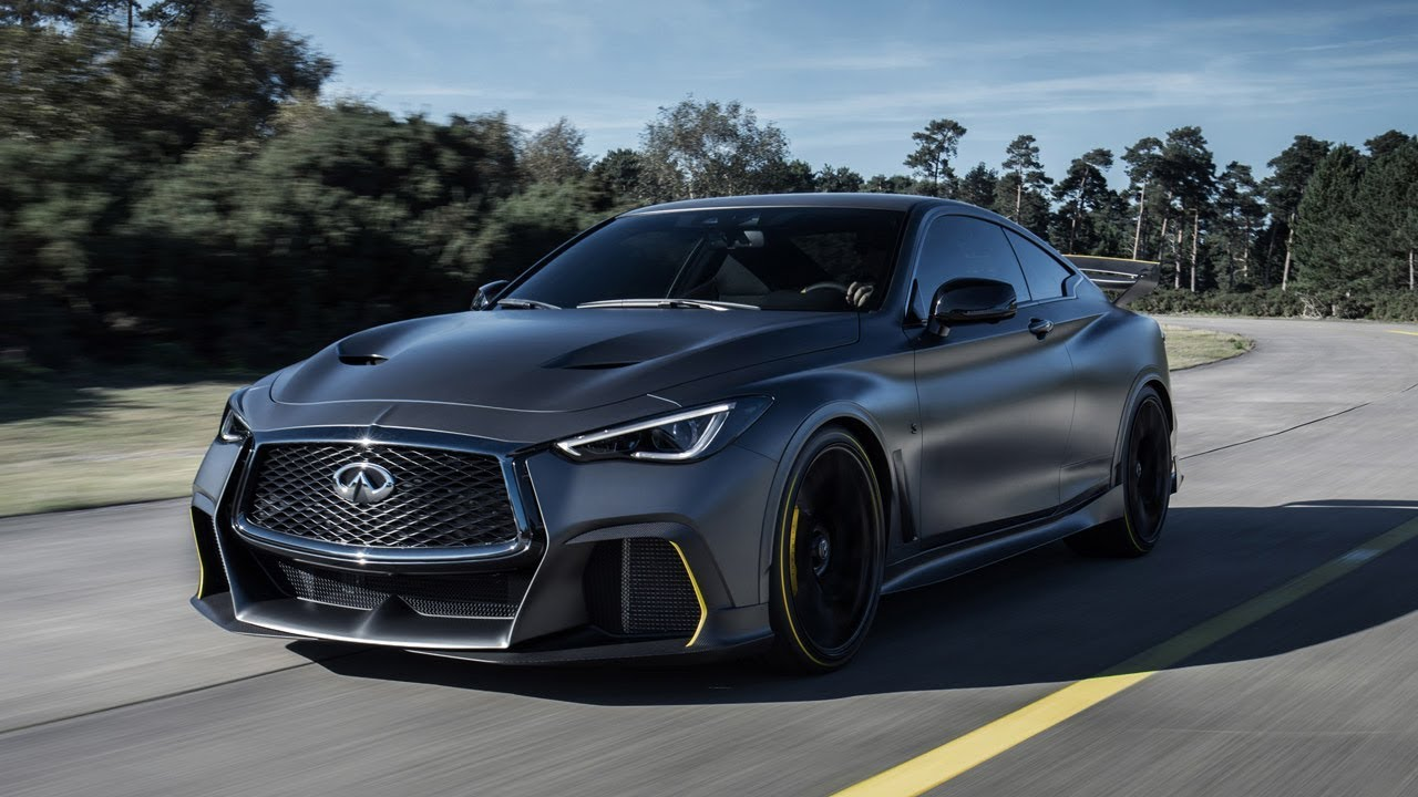 2018 Infiniti Q60 Project Black S Concept Youtube