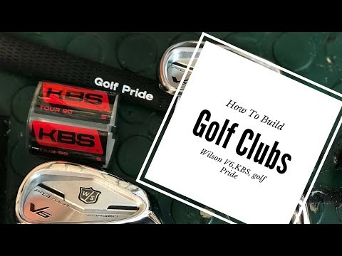 How To Build Golf Clubs pt 1