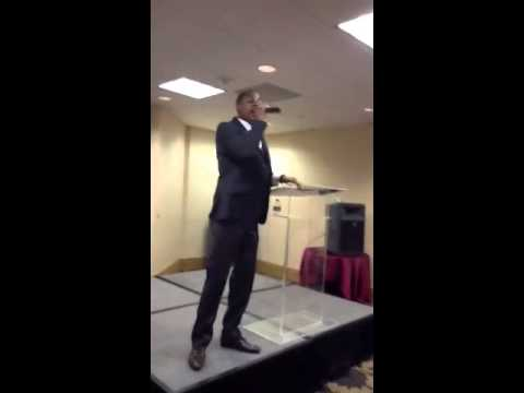 "Pastor James Evans "" You can't hold me down"" (I'm coming ba"