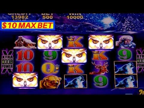 Timber Wolf Deluxe $10 MAX BET Bonus-GREAT SESSION | FORTUNE KING GOLD Slot Machine Max Bet Bonus