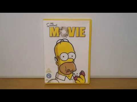 The Simpsons Movie Uk Dvd Unboxing New Version Youtube