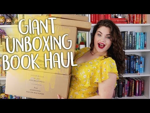 The Biggest Unboxing Book Haul EVER!