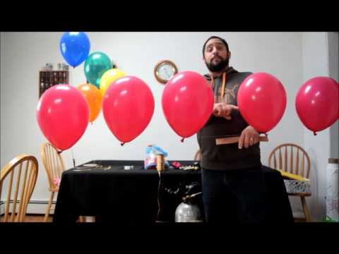 How To Make A Balloon Arch Decoration  Easy String Of Pearls Arch Tutorial Amazing Balloon Guy