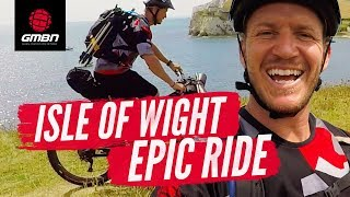 Blake's Bike Packing Adventure Round The Isle Of Wight | GMBN Epic Rides