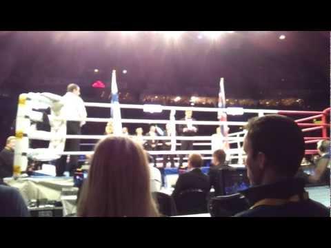 3.12.2011 Robert Helenius vs. Dereck Chisora Entrances and National Anthems