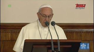 Przemówienie Franciszka wygłoszone podczas spotkania z przedstawicielami władz państwowych Łotwy