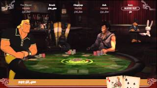 Poker Night 2 Gameplay Part 1