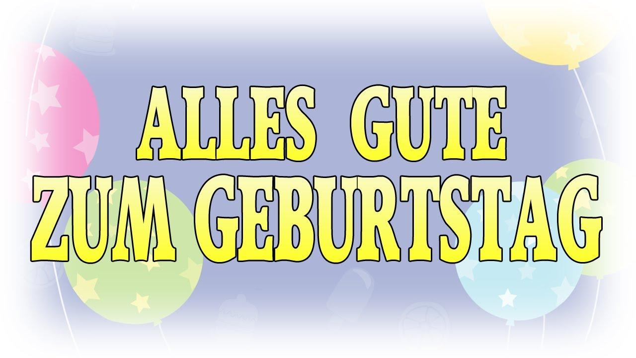 Zum Geburtstag Viel Gluck Lied