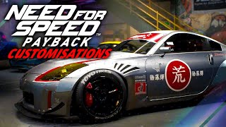 Need for Speed Payback - Customizations Guide