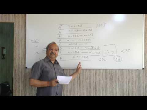 MRSPTU CBCS Grading System