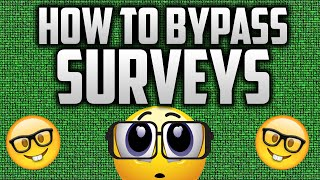 HOW TO BYPASS SURVEYS (Working 2016) thumbnail