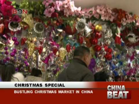 Holiday Sales in Beijing's Tianyi Market -  China Beat - Dec. 23 - BON TV