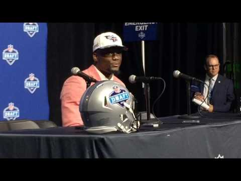 Western Michigan's Corey Davis surprised to be picked by Tennessee Titans at No. 5