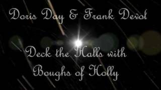 Doris Day & Frank Devol - Deck the Halls with Boughs of Holly