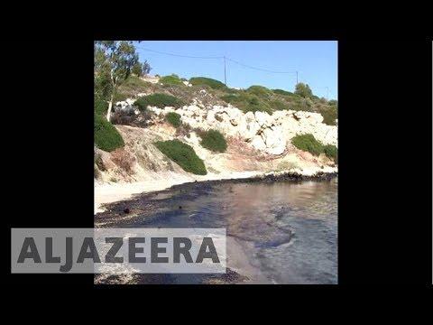 Greek Oil Spill