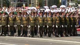 Военный парад в честь Дня Независимости прошел в Минске