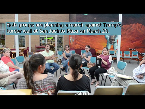 Indivisible El Paso and Boundless Across Borders community meeting