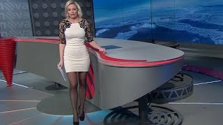 Lucie Borhyová Beautiful Czech Tv Presenter 13.01.2013