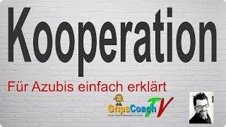 Unternehmens-Kooperation einfach erklärt - Prüfungswissen für Azubis ★ GripsCoachTV