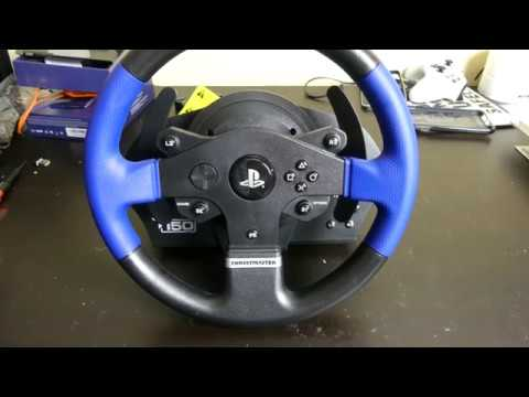 Thrustmaster T150 PS/PC Wheel Unboxing