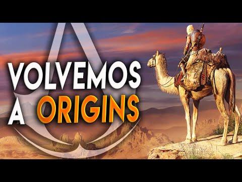 VOLVEMOS A Assassin's Creed ORIGINS | Directo Hablando Con Vosotros