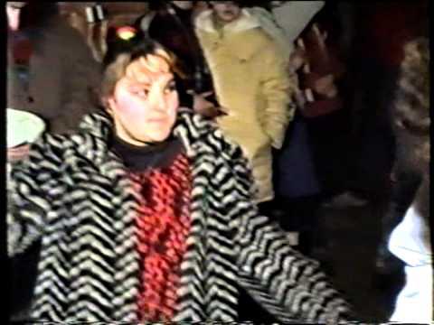 Дискотека в 90-е годы. Уникальные кадры.